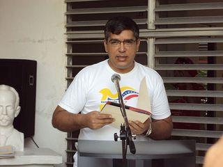 Roland Blanco La Cruz ex embajador de Venezuela en Cuba